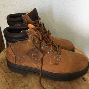 "Timberland 6"" Men's Work Boots Buck Size 11"